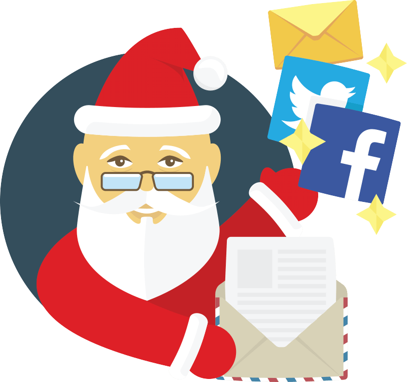 Do you know which platform Santa Claus uses?