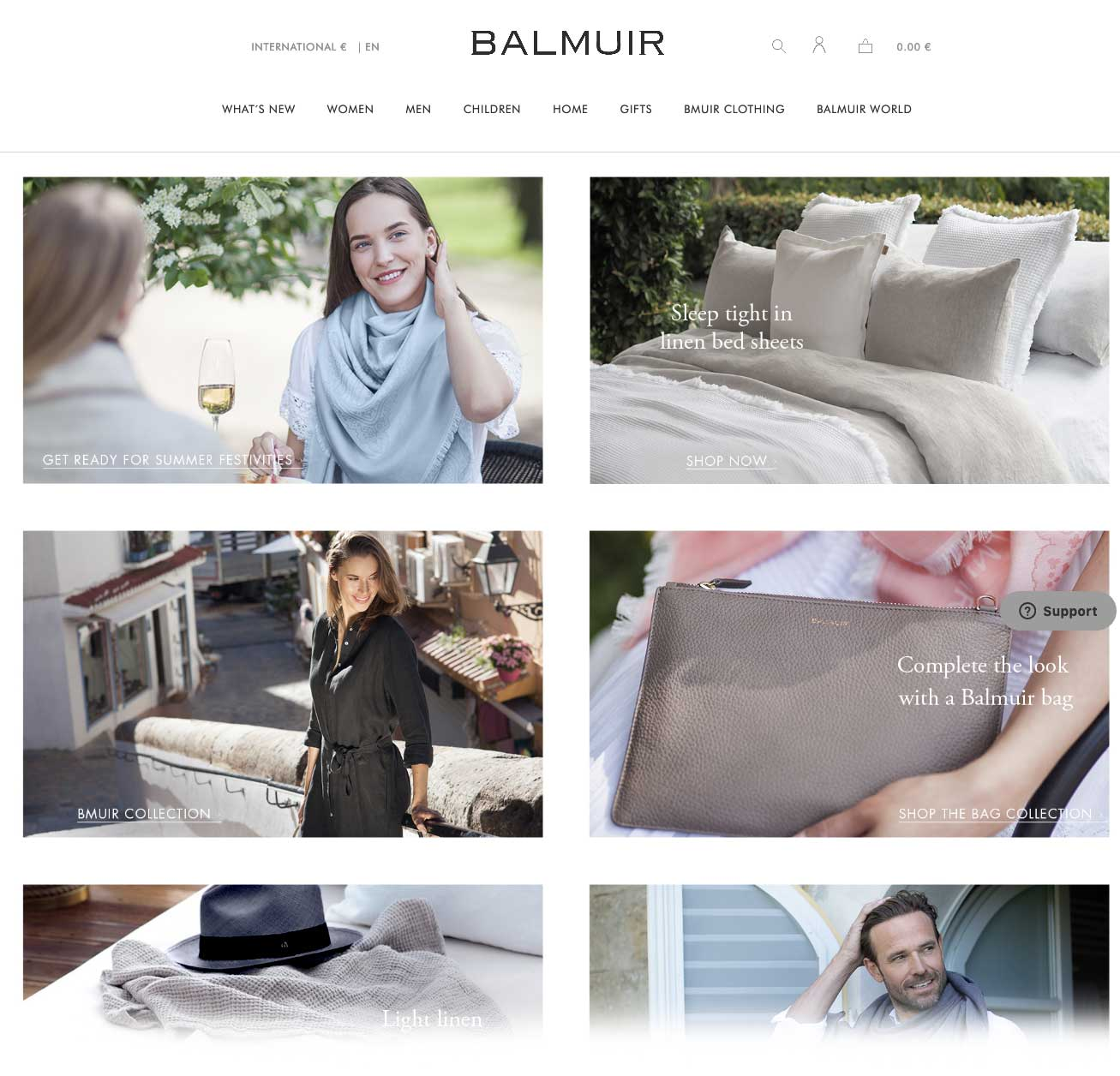 Balmuir is a lifestyle brand offering interior decoration items and fashion accessories made from the finest natural materials
