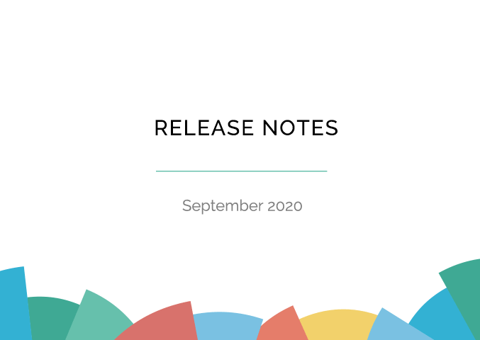 Release Notes August 2020